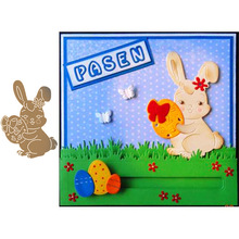 Rabbit Animal Metal Cutting Dies for Scrapbooking Paper Craft Embossing Die Card Making Stencils New 2019