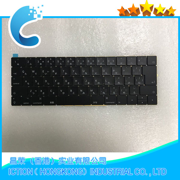Original New A1707 Keyboard Japan JP Japanese for Apple Macbook 15