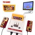 Clásicos Retro consolas de videojuegos de Alta calidad tarjeta de Video consola de juegos + 400 juegos + tarjeta original de dos cartas TV jugador del juego