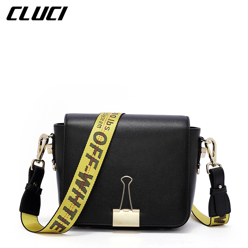 CLUCI Mini Fashion Brand Women Shoulder Bag High Quality Split Leather Messenger Bag Small Crossbody Bag Famous Brand Clutch Bag 2017 fashion all match retro split leather women bag top grade small shoulder bags multilayer mini chain women messenger bags