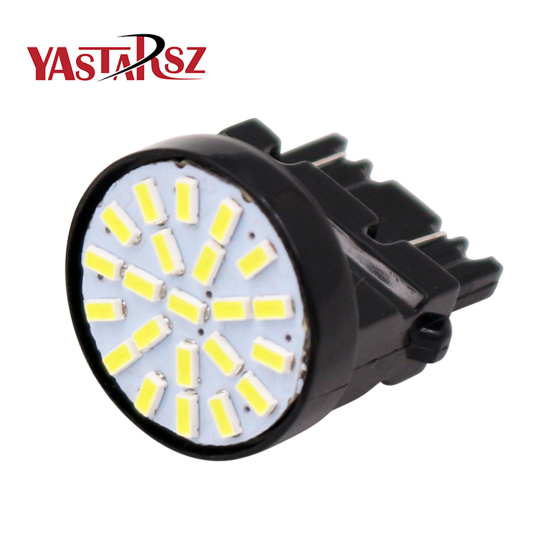 1X T20 WY21W W21W 22 LED 3020 7443 Car Headlight Brake Light Bulb Auto Direction Indicator Fog Lamp Backup Reverse Light Xenon 2pcs car led headlight kit led bulb d33 h11 free canbus auto led lamps white headlamp with yellow light fog light for citroen c4