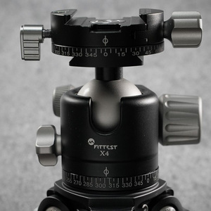 Image 5 - FITTEST X4 Professional Portable Panoramic Low Profile Ball Head Tripod Head Panoramic Head For DSLR Camera Camcorder SUNWAYFOTO