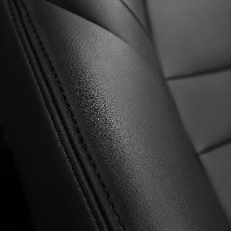 Cubierta de asiento de cuero para Toyota Volkswagen Suzuki Kia Mazda - Accesorios de interior de coche - foto 5