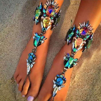 New Arrival Fashion Bracelet Wedding Barefoot Sandals Beach Foot Jewelry Wholesale Sexy Pie Leg Chain Boho
