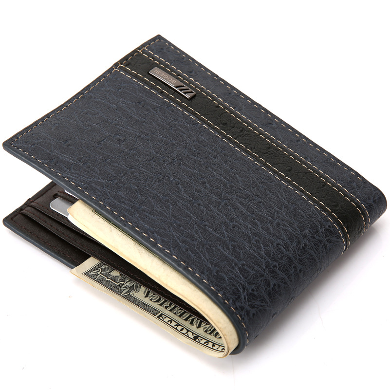 High Quality Leather Wallets Men Famous Brand Casual Standard Wallets Purses Male Money Card Holders Creative Carteira Masculina