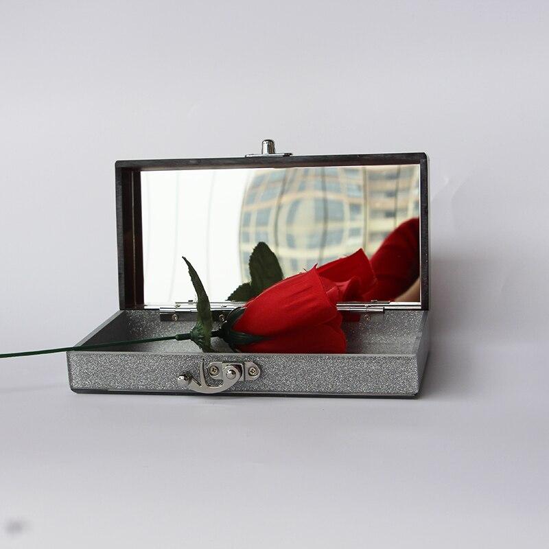 Caja de acrílico bolso de embrague de las mujeres pequeña bolsa de - Bolsos - foto 6