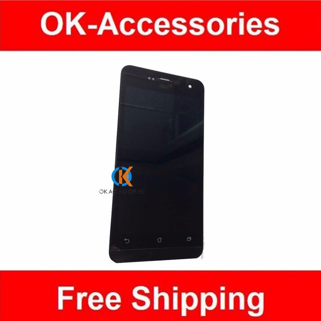 Black Color For Asus ZenFone 5 A500CG A501CG  T00J T00F LCD Display+Touch Screen Digitizer+Frame Assembly 1PC/Lot