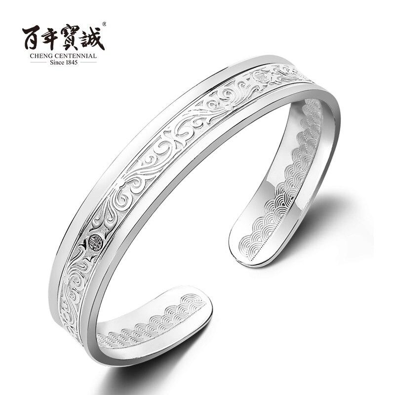 Cheng Centennial --Jewelry-Sterling Silver Women Bangle Bracelet- Centuries-old Enamel Crafts цена 2017