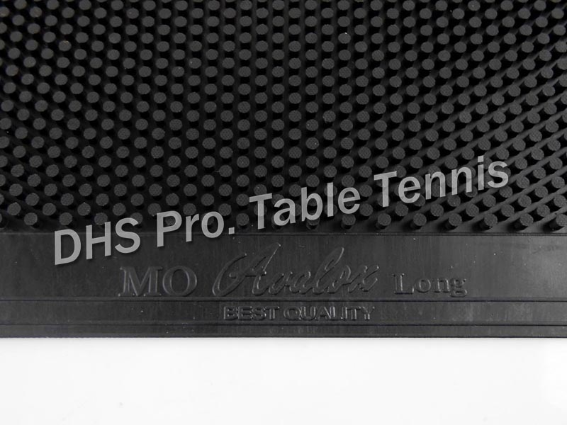 AVALOX MO ( OX, Super Big Pips, No ITTF ) Long Pips-out Table Tennis / Pingpong Rubber Without Sponge, OX