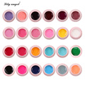 Lily angel 24Pcs/Set Options UV Gel Builder Nail Art Tips Gel Nail Manicure Extension Gel Nail Polish QQ Color Soak-Off UV Gel