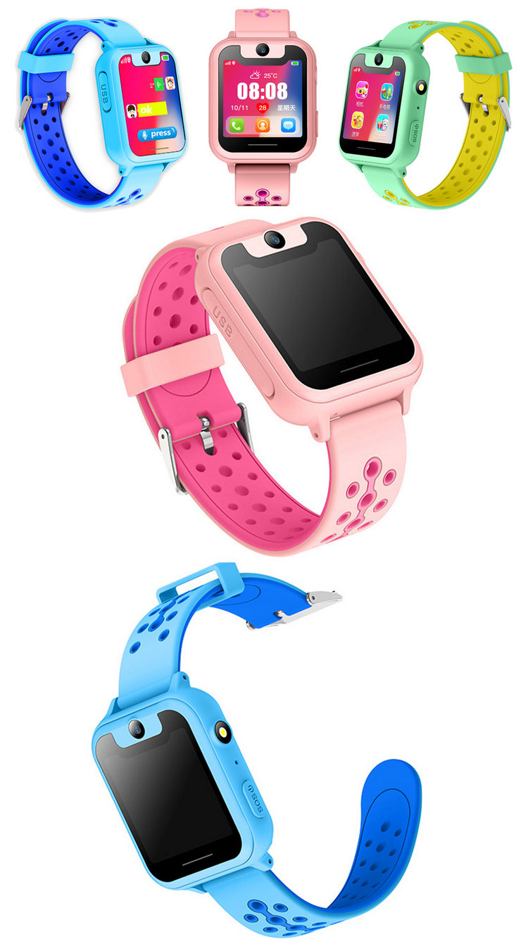 S6 VS S10 Smart watch LBS Kid Smart Watch Baby Watch Children SOS Call Location Finder Locator Tracker Anti Lost Monitor Watch