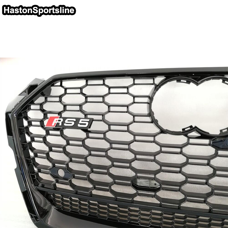 A5 S5 RS5 S Line Quattro Front Bumper Engine Grill Grids for Audi A5 2017UP фары номерного знака candy 5 18 smd audi audi a4 b8 s4 a5 s5 q5 s tt rs