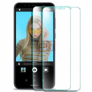 Image 1 - Protector de pantalla de vidrio templado para Huawei, Protector de vidrio templado para HUAWEI Y5 Y6 Y7 Y9 Y3 2018 Prime Pro, Y3 II Y5 II Y6 II 2017, 2 uds.