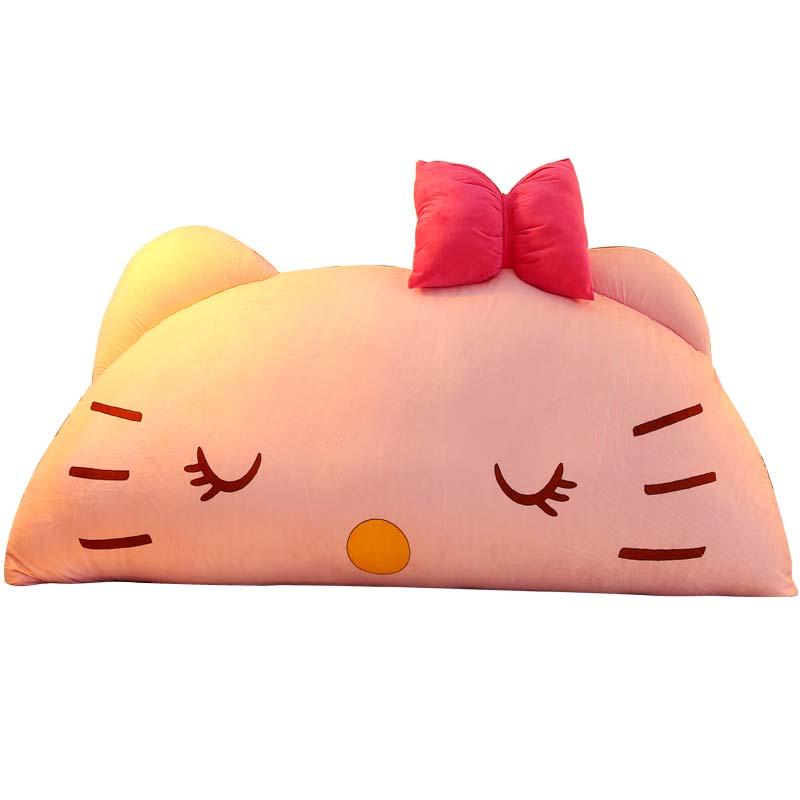 Chpermore Cartoon bedside cushion Cute Children Pillow Bed back cushion Korean princess Tatami Soft bag large backrest