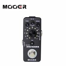 NEW Effect Pedal /MOOER Micro Drummer effect pedal Digital Drum machine