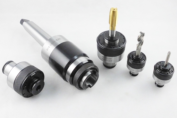 1set MT2 MT3 GT12 tapping tools holder floating expandable tapping collet chuck 5pcs collet M4 M12