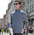 New winter men's thick turtleneck sweater men pullover mens cashmere sweaters casual pullovers and sweaters