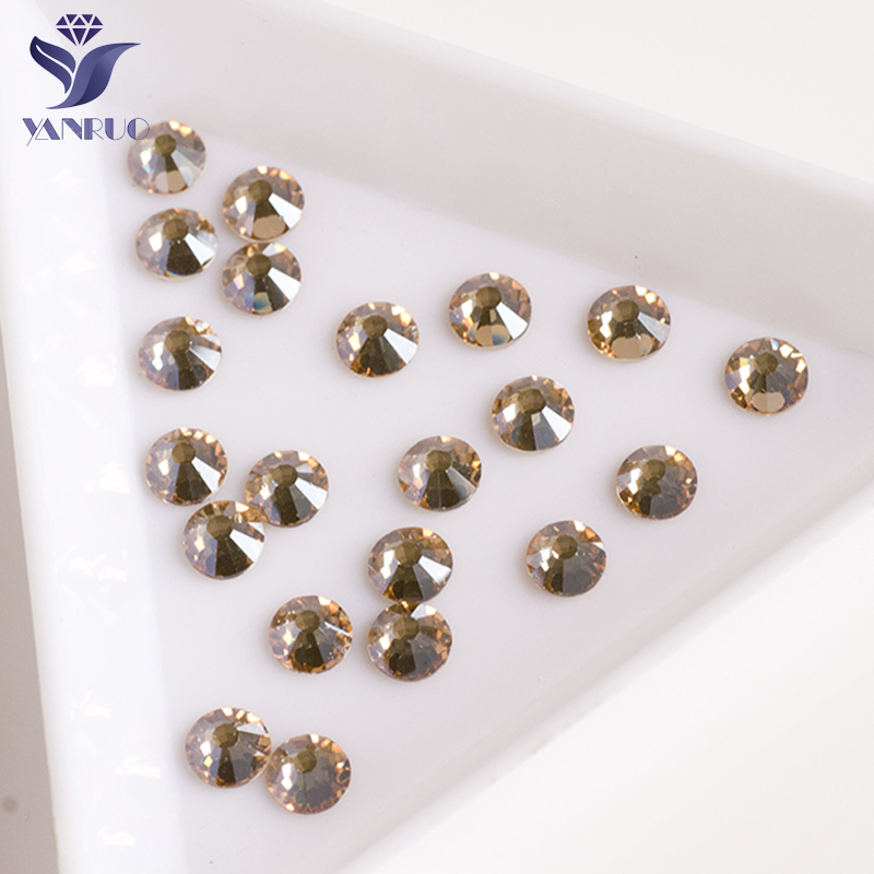 c25764bd86 ᗗYANRUO #2028NoHF All Sizes GSHA Flat Back Non Hotfix Crystal Glass ...