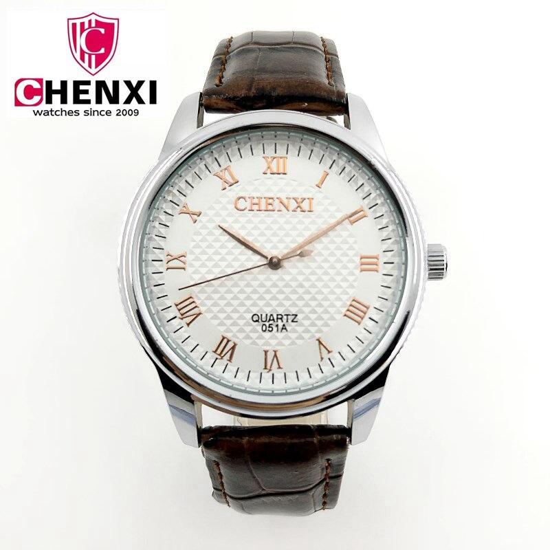 Click here to Buy Now!! NATATE Top Homens algarismos Romanos CHENXI Marca  de Luxo de Quartzo Ocasional Relógio ... da991f6c6e
