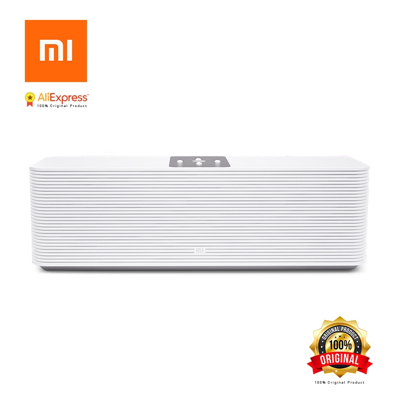 Original Xiaomi Mi Network Speaker Smart Home Internet Bluetooth Speaker Wireless Speakers Support Mobile APP MP3 Music Player original xiaomi mi rabbit bluetooth 4 0 wireless speaker red