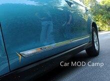Для Peugeot 4008 2012 2013 2014 2015 2016 ABS Chrome внешние кузова молдинг крышка планки 4 шт. стайлинга автомобилей аксессуары!