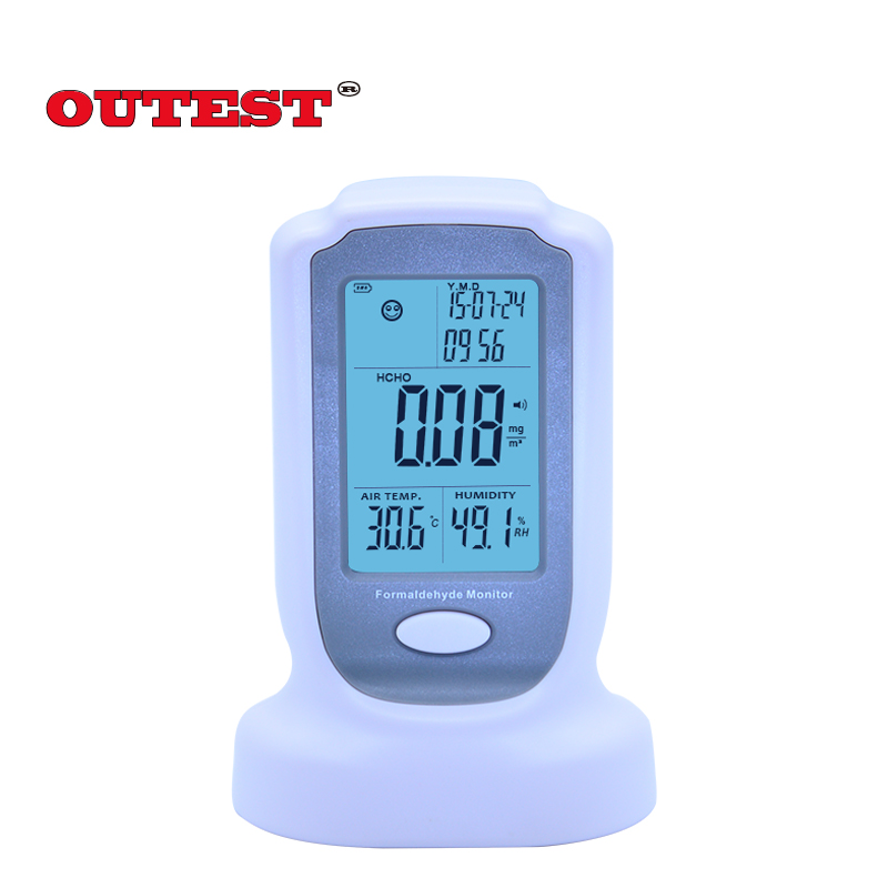 OUTSET GM8801 Handheld digital Formaldehyde detector meter HCHO Gas analyzer tester 0-3mg/m3 Air quality monitor