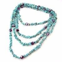 Лидер продаж, ожерелье в богемном стиле, многослойный браслет-цепочка с камнем, украшение для женщин