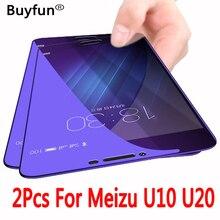2 шт. для Meizu U10 закаленное стекло для Meizu U20 U10 Защита экрана для Meilan U 20 10 3D полное покрытие 2.5D защитная Пленка чехол