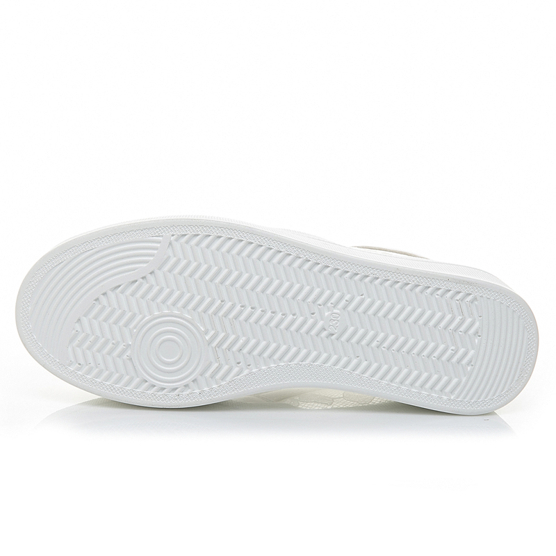 2b40595e Negro Plataforma Mujeres Mujer Zapatillas Holgazanes En blanco Creepers Zapatos  Blanco Aumento Altura Resbalón Plana Pisos La Verano De Casual ...