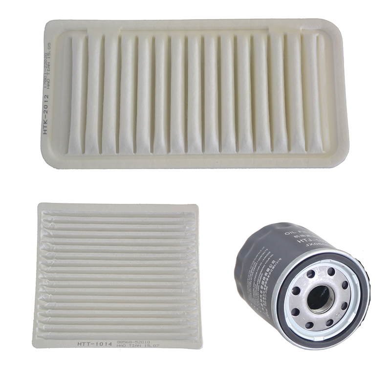Car Air Filter Cabin Filter Oil Filter for Toyota Corolla 1.6L 1.8L Geely GC7 Lifan 620 17801-22020 88568-52010 JX0605B image