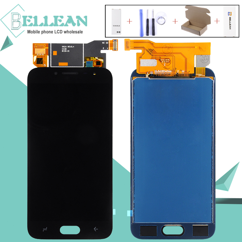 Discount 1pcs OLED j2 2018 screen For Samsung Galaxy J250 display j2 Pro J250M lcd Display Touch Screen digitizer Assembly+tools