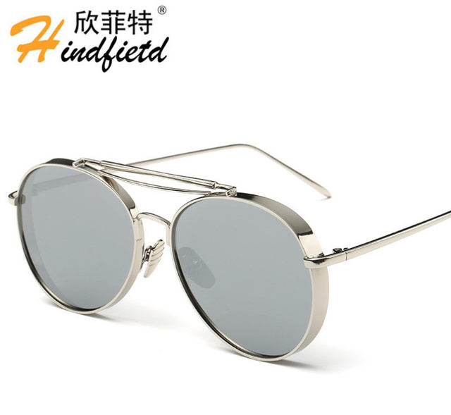 515c3bd47 Factory outlets Sunglasses fashion Ms/Men's personality trend Polarized  Sunglasses UV400 Thick eyewear-in Sunglasses from Women's Clothing &  Accessories on ...