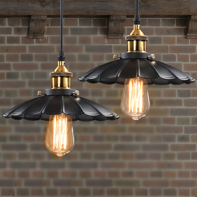 Pendant Lights Vintage Industrial Retro Pendant Lamps Dining Room Lamp Restaurant Bar Counter Attic Lighting E27 Holder vintage pendant lights industrial loft american retro lamps creative restaurant dining room lamp bar counter incandescent bulb