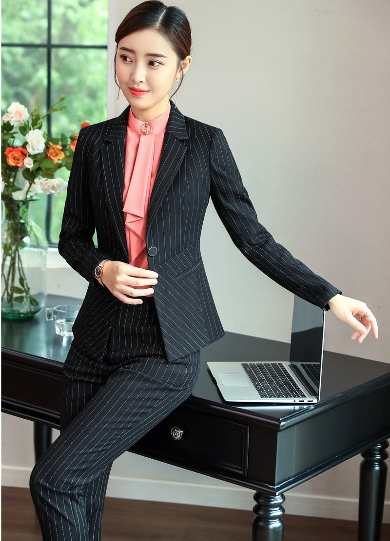 best website 36428 ddd04 Signore Pantaloni Femminile Striped Righe Affari Pantalone ...