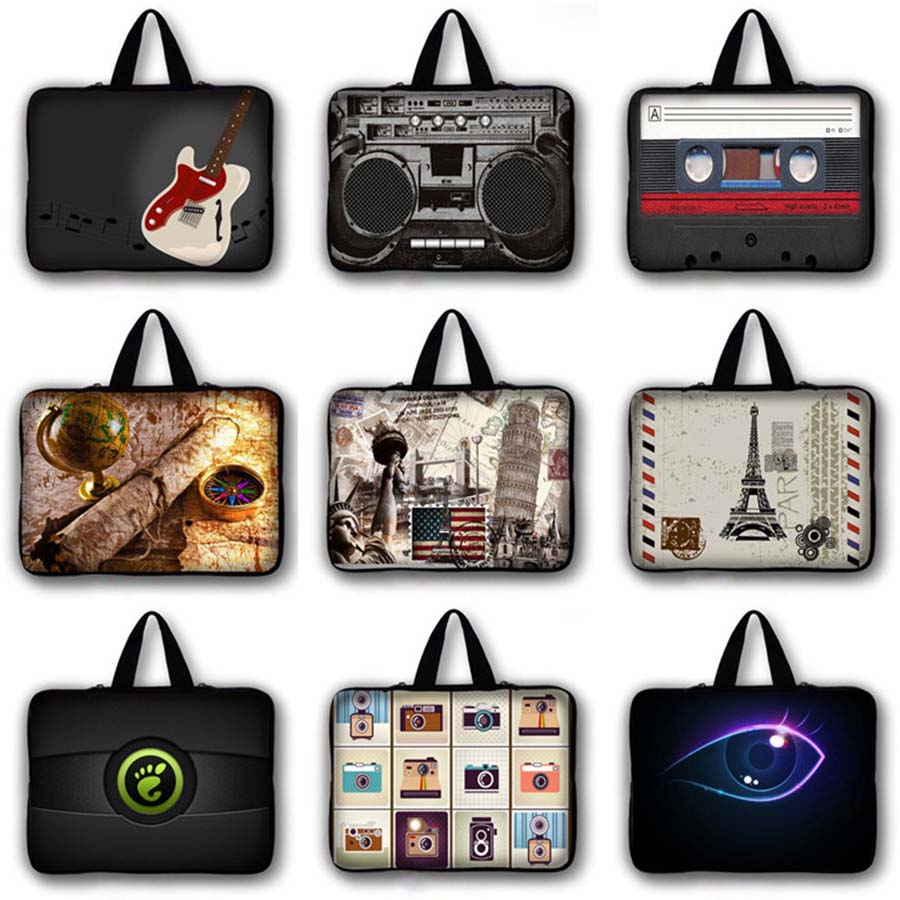 custom 7 9 7 11 6 13 3 14 1 15 4 15 6 17 3 inch Laptop Bag Notebook Sleeve Computer case Handbag Ultrabook briefcase LB 1507071 in Laptop Bags Cases from Computer Office