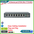 8 ethernet port GEPON ONU FTTB MDU