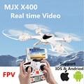 MJX X400 100% Оригинал 2.4 Г 4CH 6-Axis Дистанционного Управления RC вертолет Мультикоптер Игрушки wifi FPV Drone Может добавить в режиме реального времени на видео