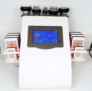 Image 2 - Лидер продаж 2020, вакуумный лазерный радиочастотный аппарат 6 в 1 RF 40K Cavi Lipo для похудения, ультразвуковой аппарат для липосакции и кавитации для спа