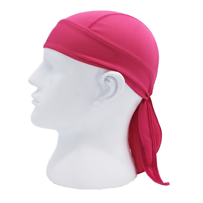 Sports soft equipment riding outdoor sports hat scarf breathable quick-drying sunscreen motorcycle cap color:rose Red