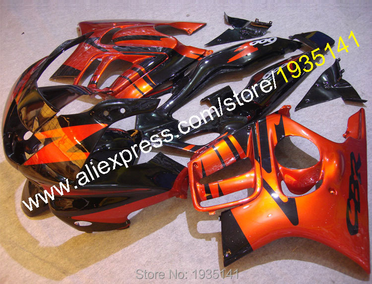 Hot Sales,For Honda CBR600 F3 97-98 ABS Body Kit CBR 600 F3 1997-1998 CBR 600F3 Body work Motorcycle Fairing (Injection molding)