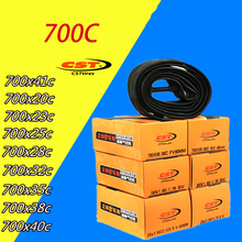 лучшая цена Cst Bicycle Tube 700*20C/23C/25C/28C/32C/35C/38C/40C Presta Valve French/Presta Valve tire Inner Tire Fixie Tube