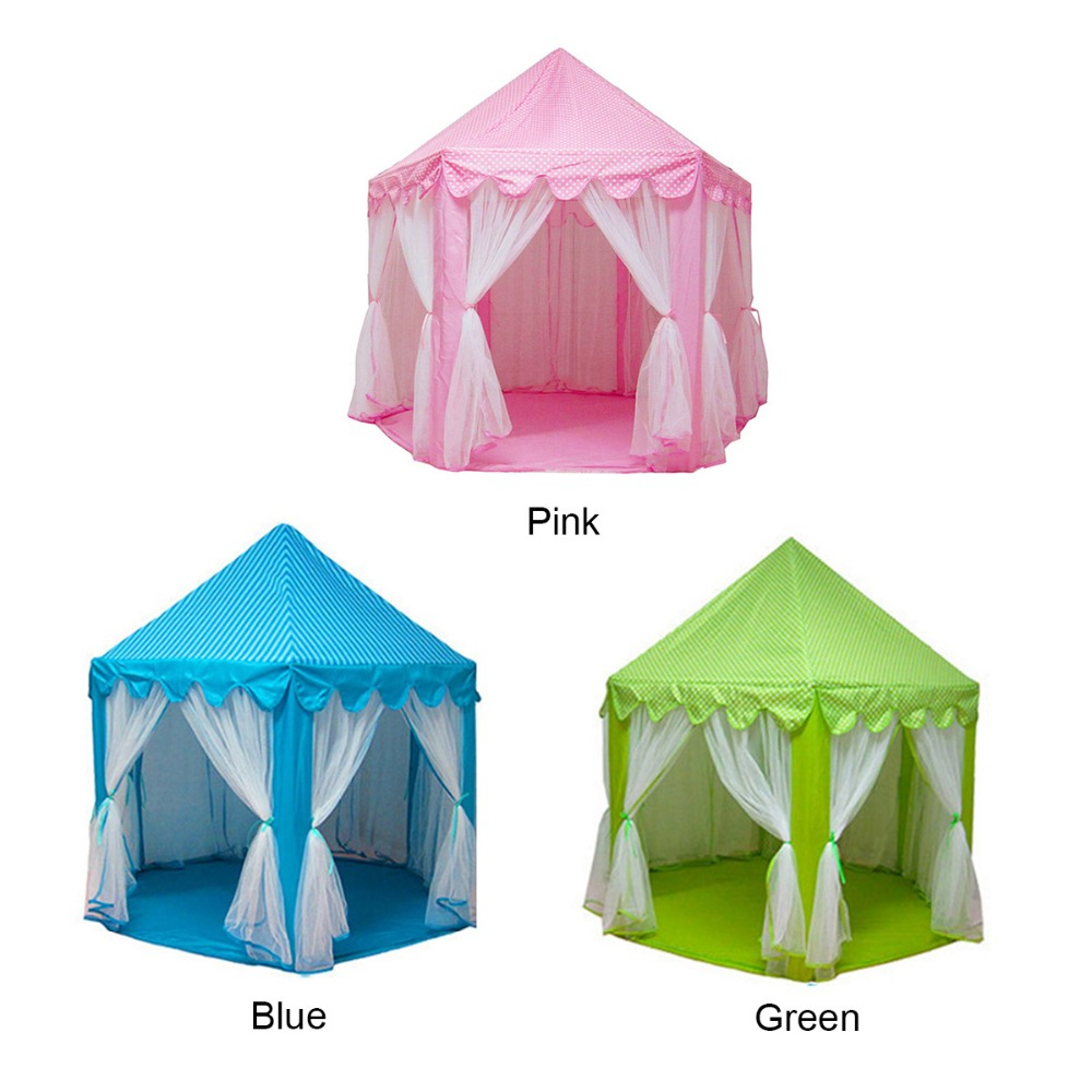 princess castle fairy large capacity portable foldable toy tents girls children outdoor activity indoor game play house mosquito south korea six large angle princess castle tulle children toy house large game room selling mosquito tent puzzle tent toy