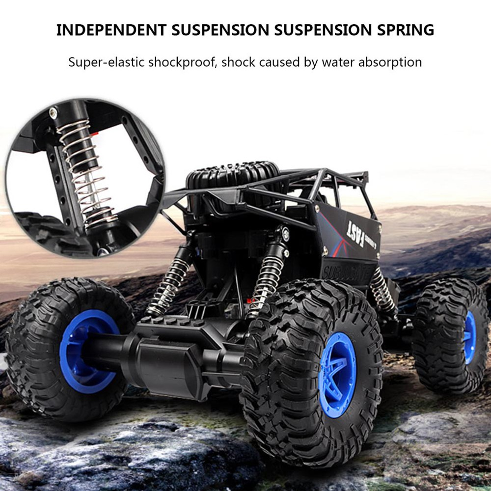 Image 4 - RC Car 2.4G 4CH Rock Crawlers Driving Car Drive Bigfoot Car Remote Control Car Model OffRoad Vehicle Toy wltoys drift-in RC Cars from Toys & Hobbies