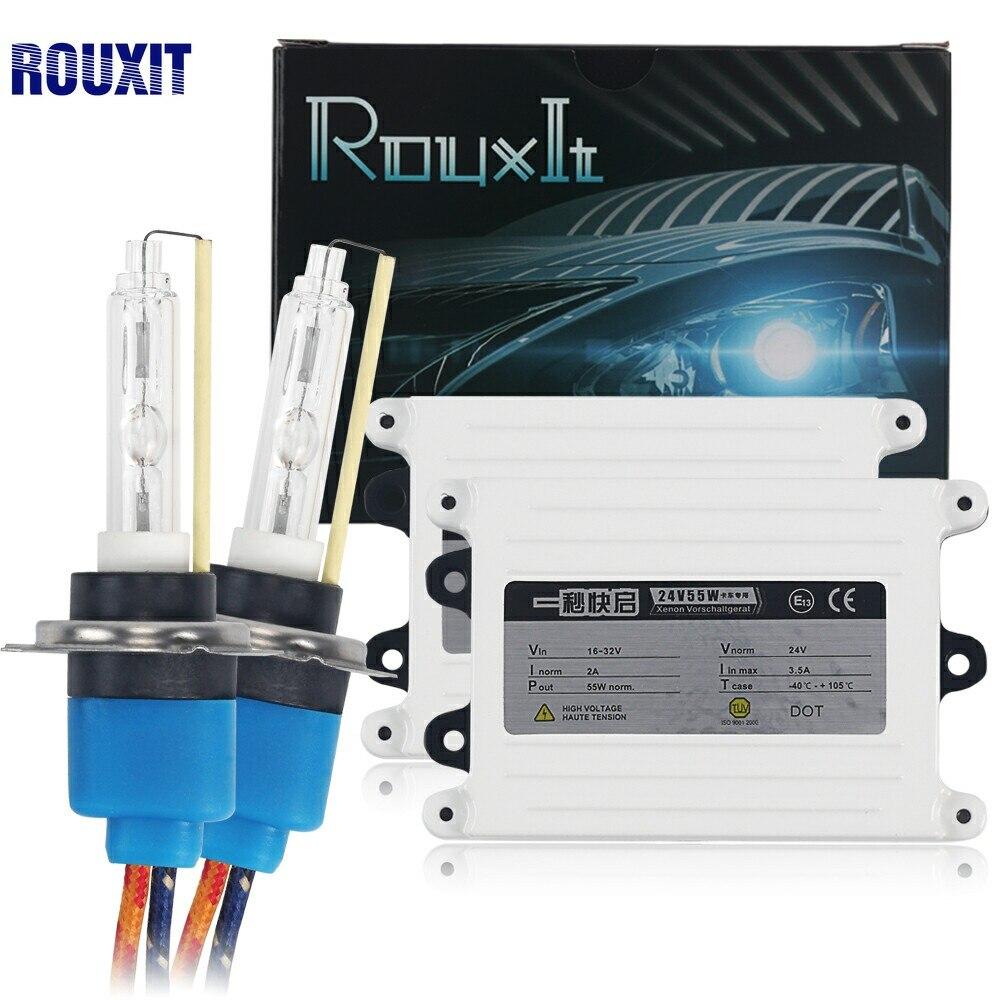 AC 55 W 24 V camion lumière Ballast mince xénon HID kit H7 H1 H3 H8 H9 H11 9006 9005 HB3 HB4 6000 K 4300 K 8000 K HID xénon lumière