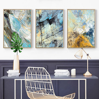 30*40cm 3pcs/lot Simple Modern Sofa Background Wall Abstract Painting Hotel Soft Drapery Entrance Home Decoration Products