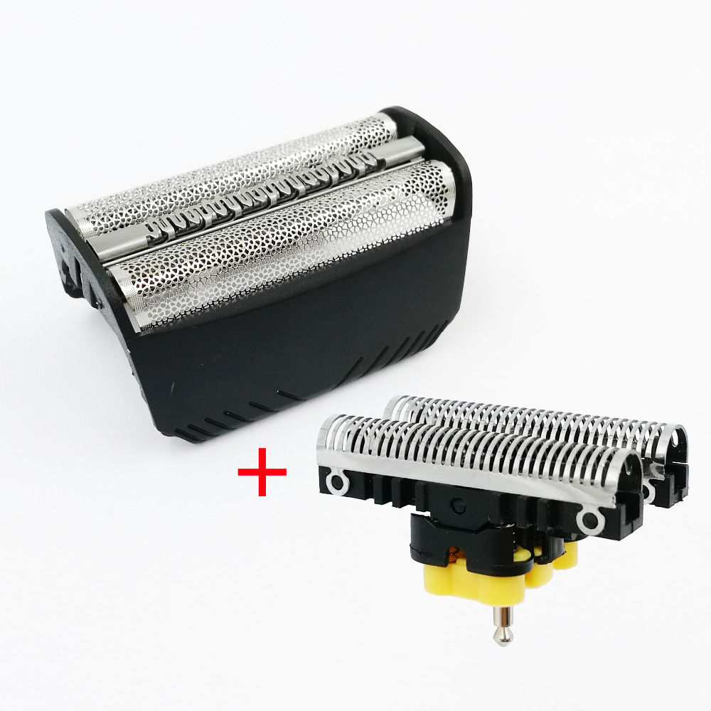 30B Foil Screen+Blade For Braun 3 Series SmartControl 4000 SyncroPro &7000 TriControl Series 5495 7505 7520 7650 195s Shaver