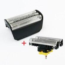 30B Foglio di schermo + Lama per Braun Serie 3 Serie SmartControl 4000 SyncroPro & 7000 TriControl 5495 7505 7520 7650 195 s Rasoio