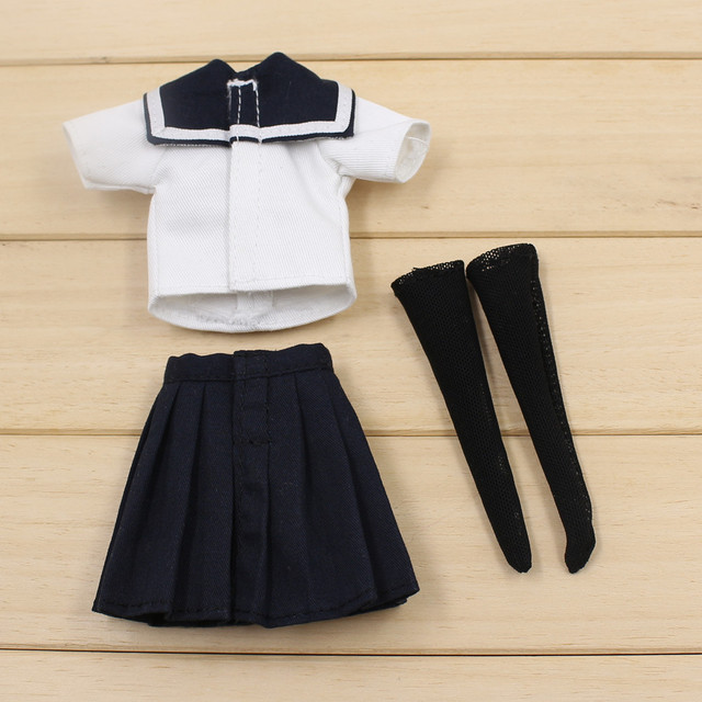 Neo Blythe Doll School Uniform With Legging