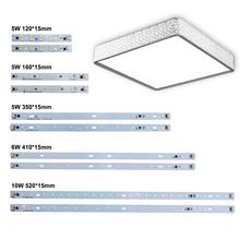цена на 10pcs LED Bar Light AC 220V Led Strip Light Aluminum Plate T5 T8 Tube SMD 5730 PCB Lamp Light Source High Quality 180-260 V JQ0