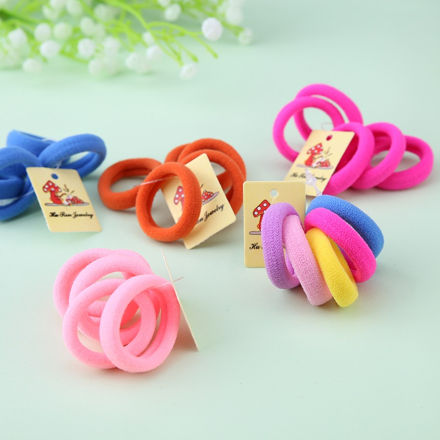 50pcs/Lot Child Baby Kids Ponytail Holders Hair Accessories For Girl Rubber Band Tie Gum Accessory newborn photography props child headband baby hair accessory baby hair accessory female child hair bands infant accessories